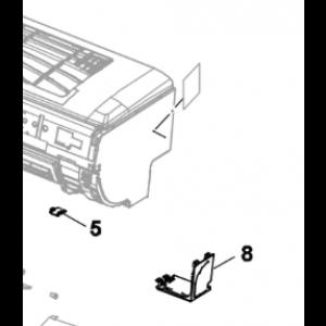007A. Täckkåpa höger Nordic Inverter och Bosch Compress innedel