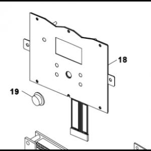 018B. Frontdisplay till Bosch Compress 3500/5000/6000