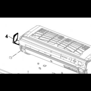 004A. Täckkåpa vänster till Nordic Inverter och Bosch Compress