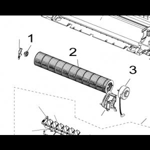 002A. Fläkttrumma till Nordic Inverter och Bosch Compress