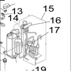 015B. 4-vägs kit till IVT Nordic Inverter 12 GR-N