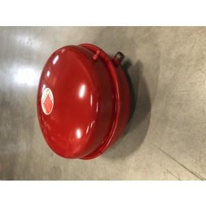 Flamco expansionskärl 18 liter, röd