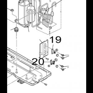 020B. 3 vägs ventil till Nordic Inverter 12 GR-N