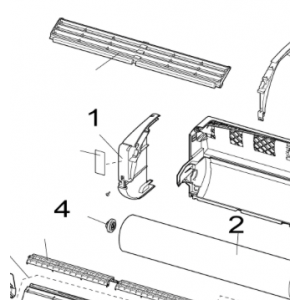 Front innerdel vänster till Nordic Inverter LRN/PRN