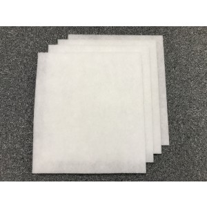 4-pack filter till NIBE Fighter 310, 315, 360, 100, 200, FLM 30, FLM 40, 370x330 mm