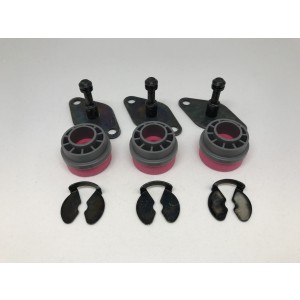 Gummidämpare/vibrationsdämpare kompressor NIBE 310/410 mfl