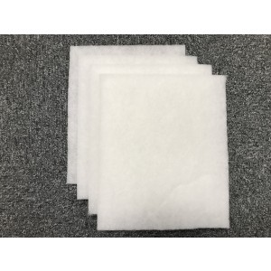 4-pack Filter till NIBE Fighter 410 Frånluft 255x215 mm