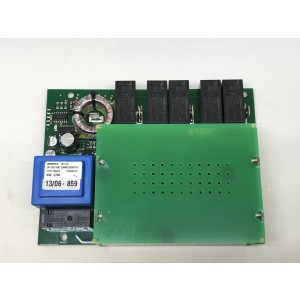 Kretskort mjukstart Kondensatorer över 0744-