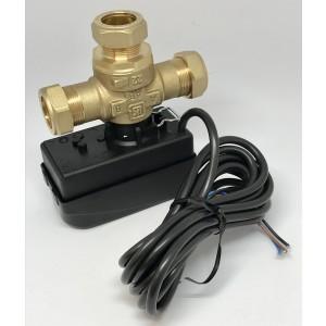Växelventil 525-22 med motor och kabel