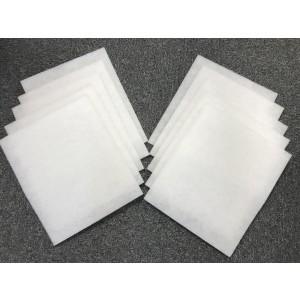 10-pack filter till Nibe Fighter 205P frånluftsvärmepump, 335x280 mm.