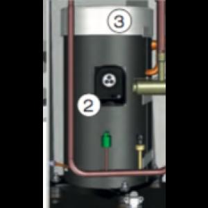 Isoleringshuv, kompressor Cl12-17 Toppel