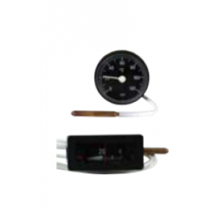 Termometer 0-120°C Rek Enl Spec L=2000