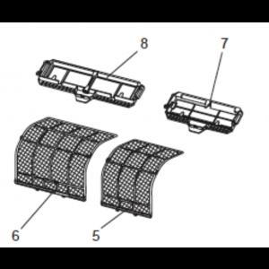 Filterset till Mitsubishi MSZ-FD