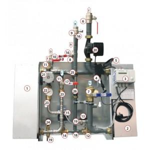 015. Siemens ställdon SAT31.008 Superb XL/XXL