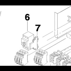 006B. Hjälpblock koppling