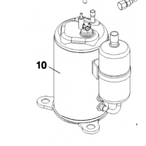 010B. Kompressor till IVT Air Combo 60