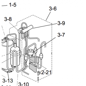 4-vägs ventil till utedel Nordic Inverter JHR-N