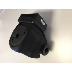 023B. Grundfos UPM2 K 25-75 130 mm inkl isolering
