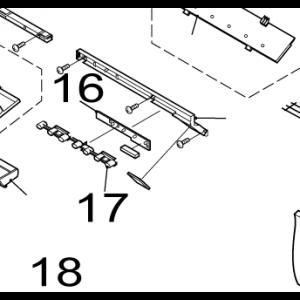 017A. Diod-guide/Diodglas till IVT Nordic Inverter GR-N/FR-N