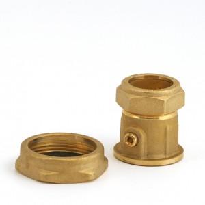 008C. Avstängningsventil 28mm till IVT och Bosch värmepumpar