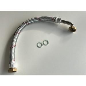 """002C. Flexslang 3/4"""" med 1"""" anslutning Längd = 570mm Bosch Original"""