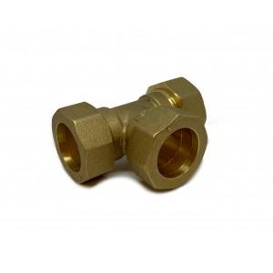 T-rör klämringskoppling 28 mm
