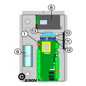 Kondensator 50Μfd 370V