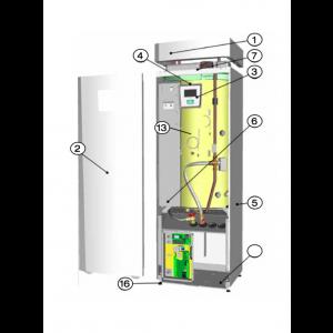 Isolation kit purhalvor - CTC EcoHeat 400-serien - CTC Parts by