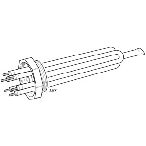 001. Immersion heater Iu31 1.5kW