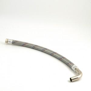 Flexible hose 3/4 90 degree bend Length = 640 mm