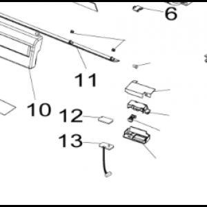Room sensor Nordic Inverter JHR / KHR / PHR