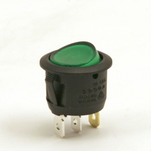 032. Manual switch green, neutral