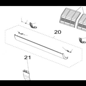 Lower front door to Nordic Inverter JHR N / KHR-N