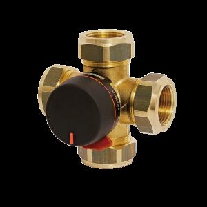Bivalent mixing valve 0209-