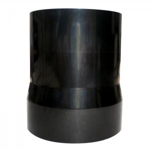 Adapter pelletsslang-brännare