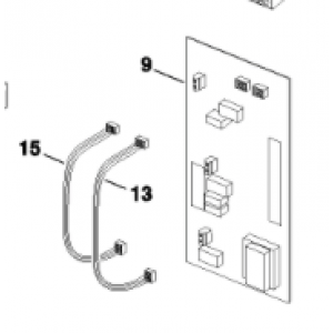009B. AHB without emergency operation I / O card SP
