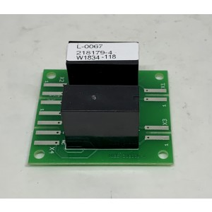 080. Relay card, fan control