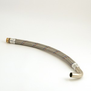 "Hose 3/4"" L = 569mm with bend"
