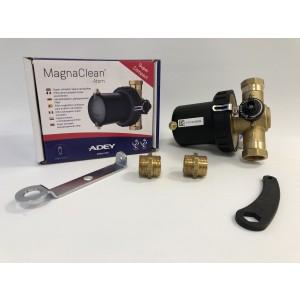 Adey MagnaClean Atom 22mm magnetitfilter med bypass
