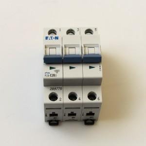 Circuit breaker 20 A supplementation