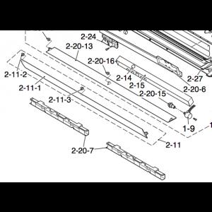 Lower air deflectors to Nordic Inverter 09DR-N