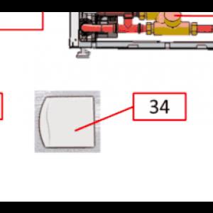 037C. External Room sensor IVT FVP 840/860