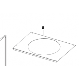 008A. Roof panel IVT Optima 600/900/1100