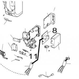 008A. PCB to inner Nordic Inverter 12 LR N / PR N