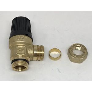 Safety valve 9 bar