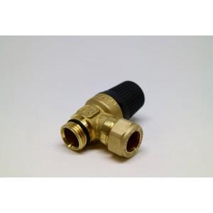 Safety valve 9 bar LK514