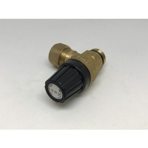 047. Safety valve, water heater 9 bar