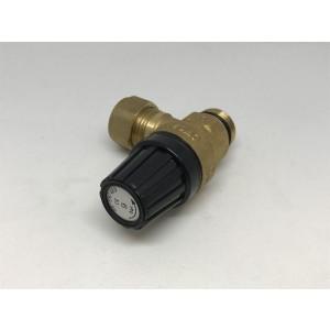 023. Safety valve, water heater 9 bar
