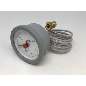 Manometer 0-2,5 BAR GREY