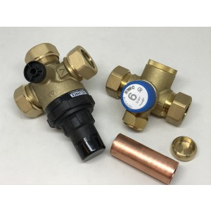 Coldinlet + pressure reducing valve